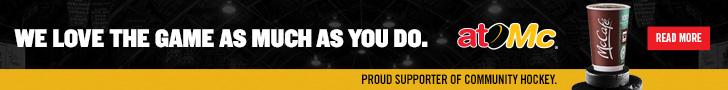 McDonalds Canada atoMc½ Hockey Banner